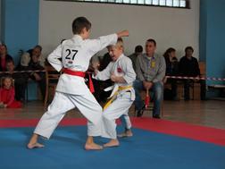 Podzimní klubový turnaj v karate 15. 11. 2014